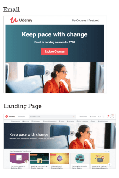 email-landing-page
