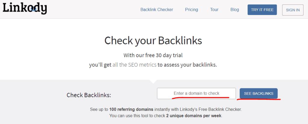 Linkody Backlink Tracker