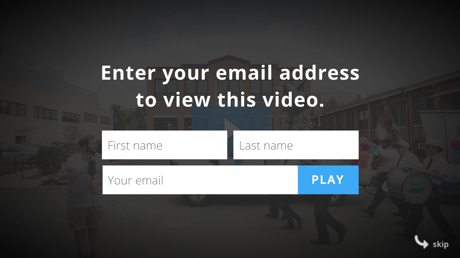 email marketing tips - Wistia turnstile