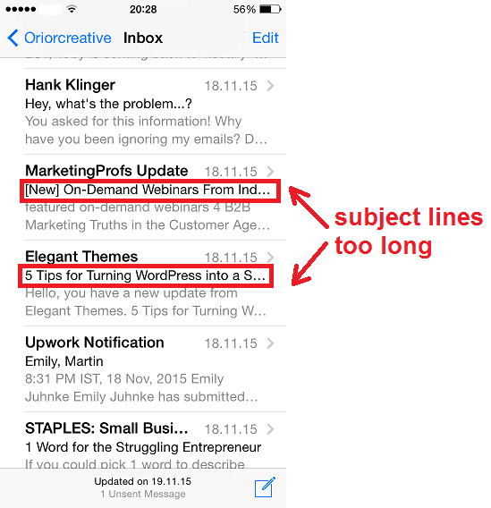 subject lines for email