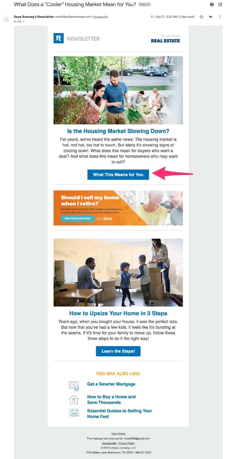 boost conversions with email design and landing pages