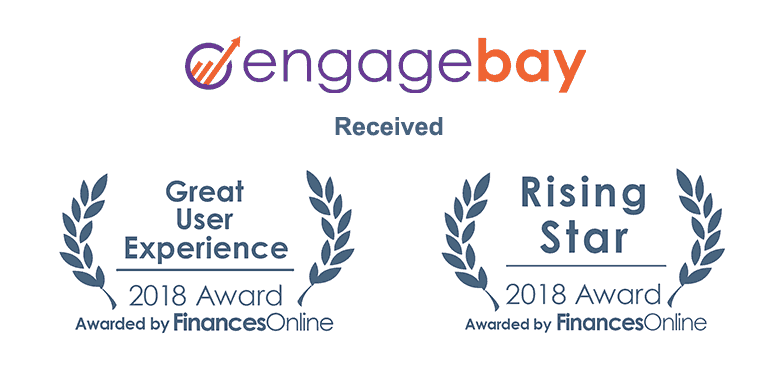 EngageBay Receives Excellence Badges From Trusted Partners