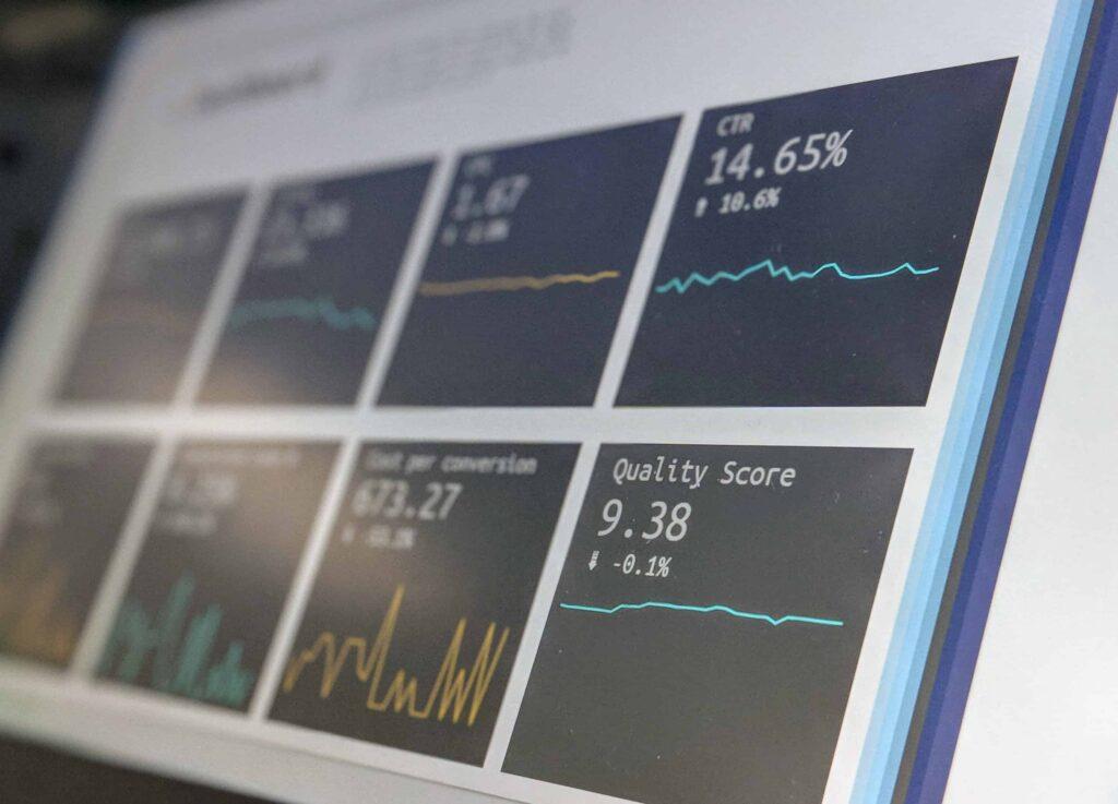 Image of data analytics program