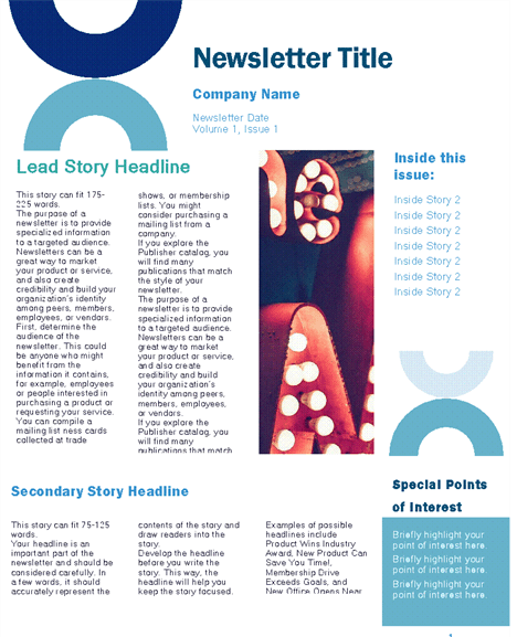 7 Free Newsletter Templates And Examples You Ll Want To Borrow