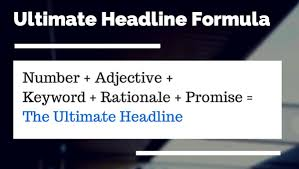 Write a captivating headline for your lead capture landing pages