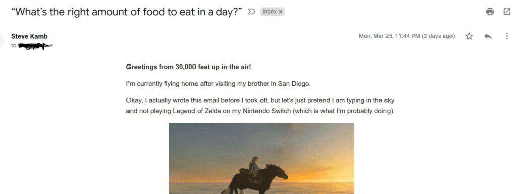Original Name in Email Senders List