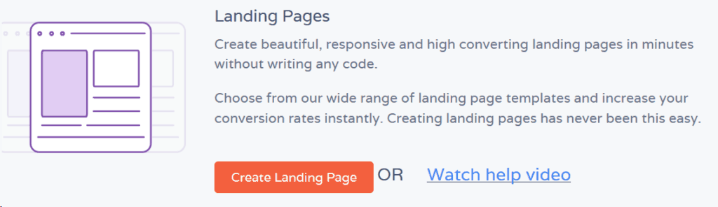 Create lead Capture Landing Pages Quickly on EngageBay