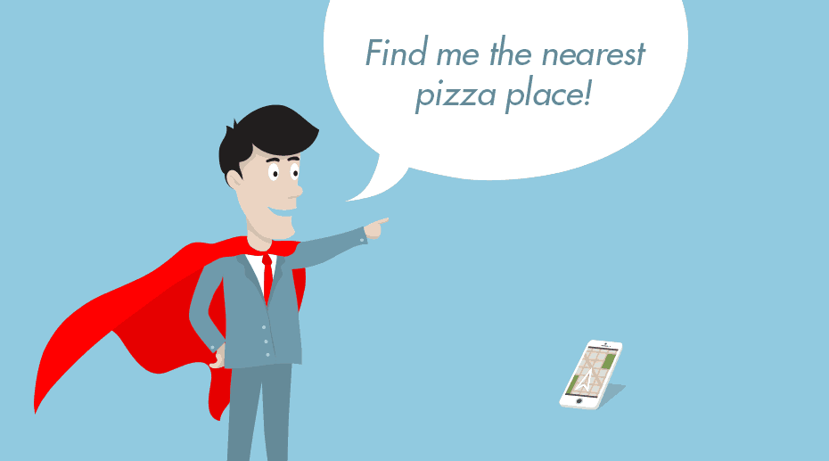 Voice marketing pizza