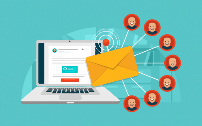 send an email blast