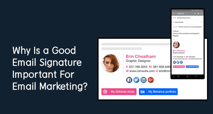 What is Email Signature & Why It's Important for Email Marketing