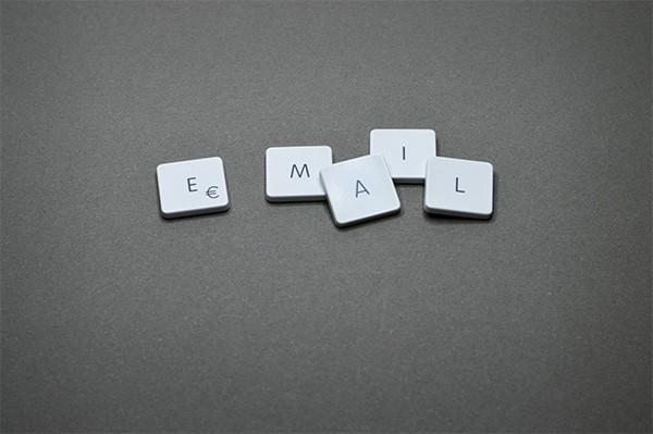 email letter tiles