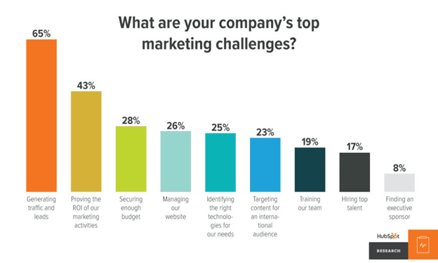 Company's marketing challenges