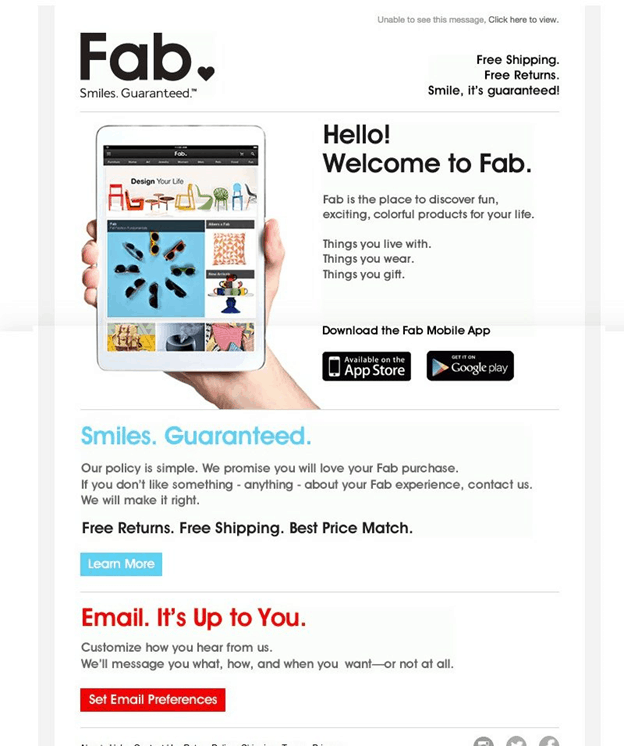 welcome to fab