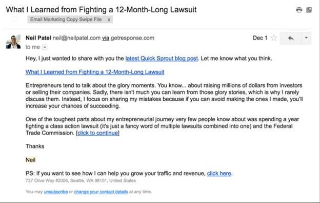 html vs plain text email
