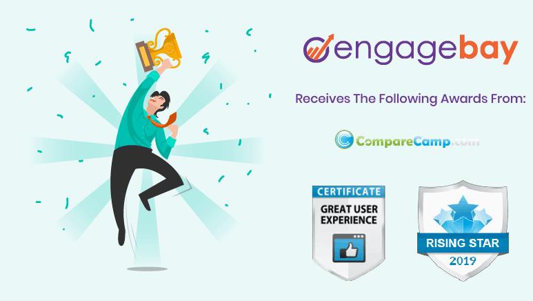 CompareCamp awards EngageBay 'Rising Star Award' of 2019