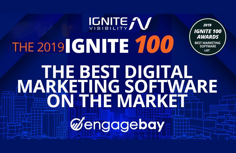 EngageBay – Leading Digital Marketing Software – Ignite 100