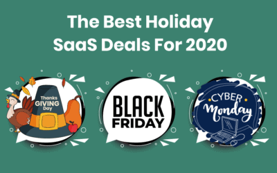 The Best Black Friday SaaS Deals For 2020