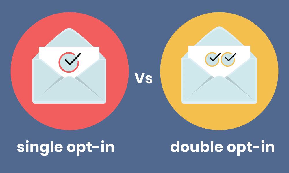 single vs double-opt-in
