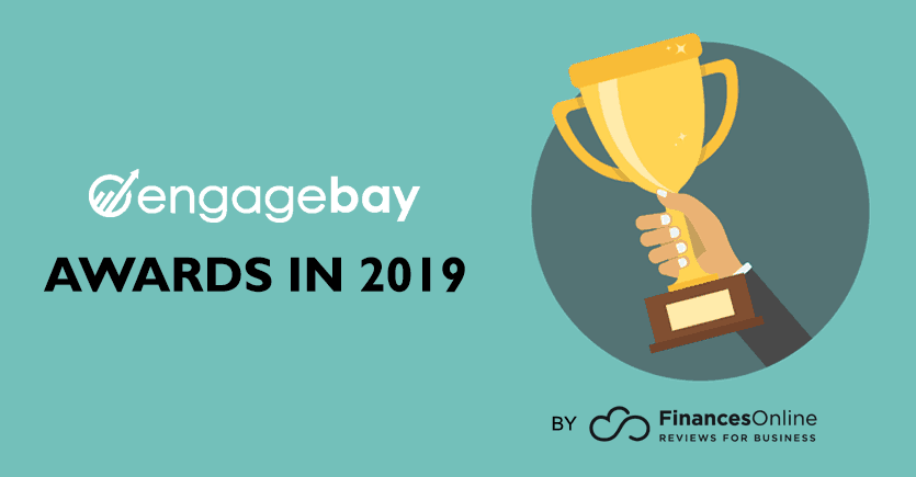 EngageBay Wins 4 Awards by FinancesOnline in 2019