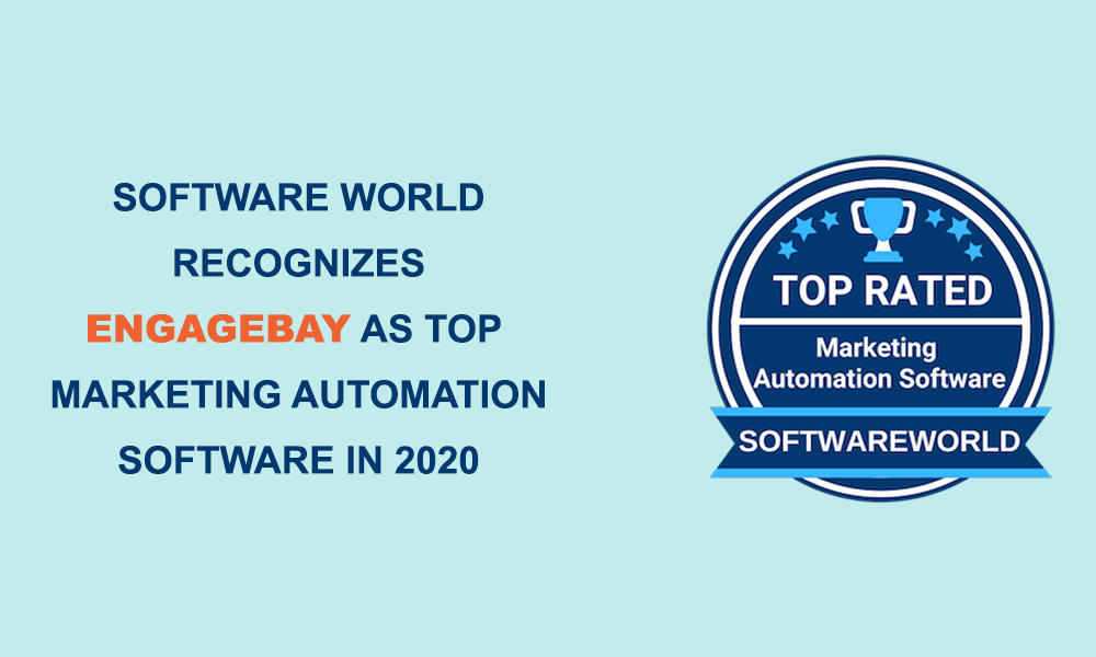 softwareworld engagebay award 2020