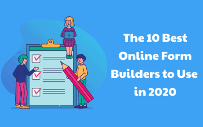 The 10 Best Online Form Builders to Use in 2020