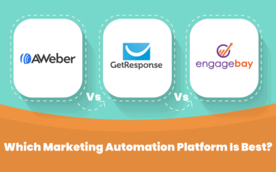 Aweber vs Getresponse vs EngageBay: Which MA Tool Is Best?