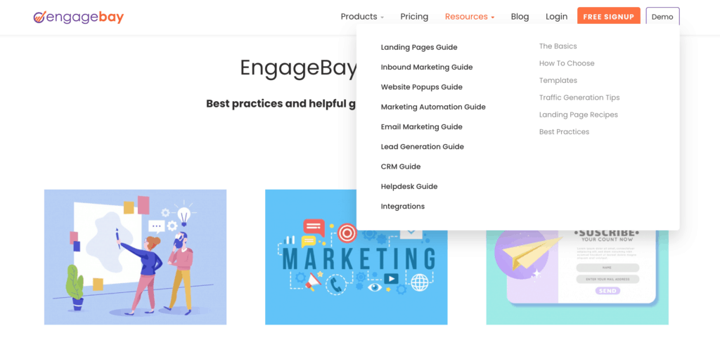 EngageBay Resource Library