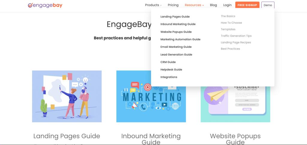 EngageBay Resource Page