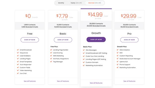 engagebay-pricing