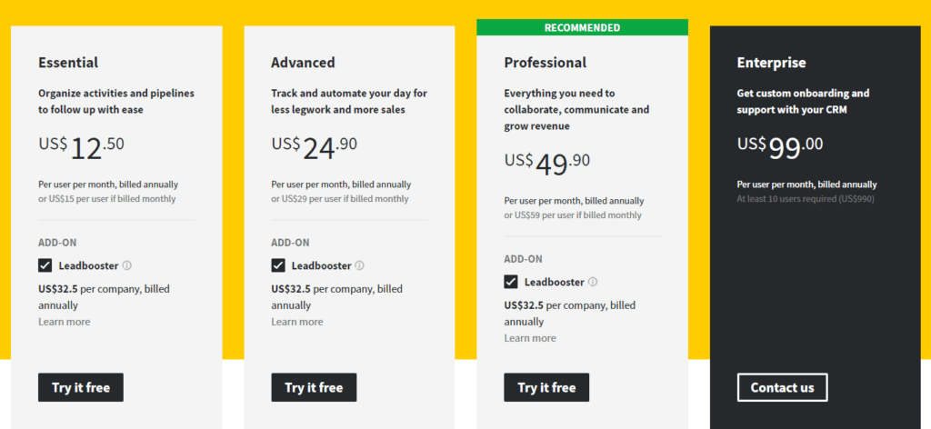 pipedrive-pricing