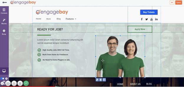 engagebay-landing-pages