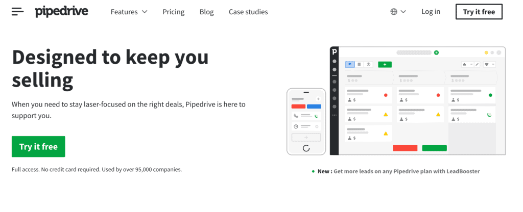 Pipedrive marketing solution