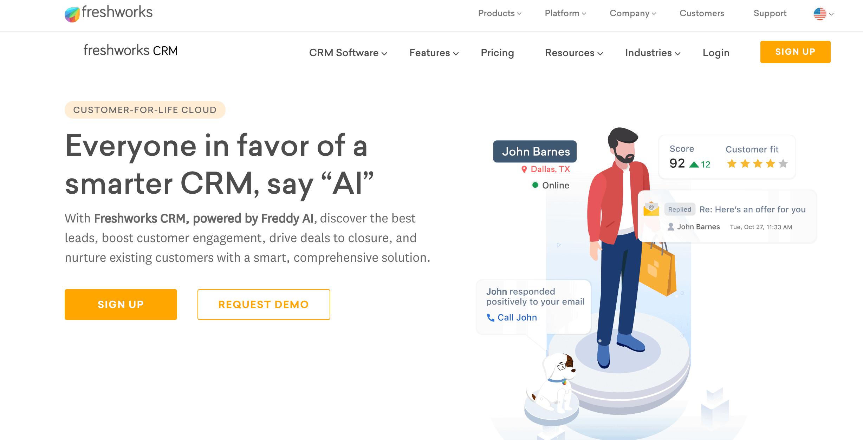 Freshworks-CRM-for-car-dealership