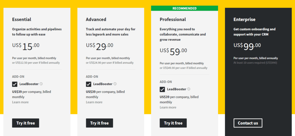 pricing-pipedrive