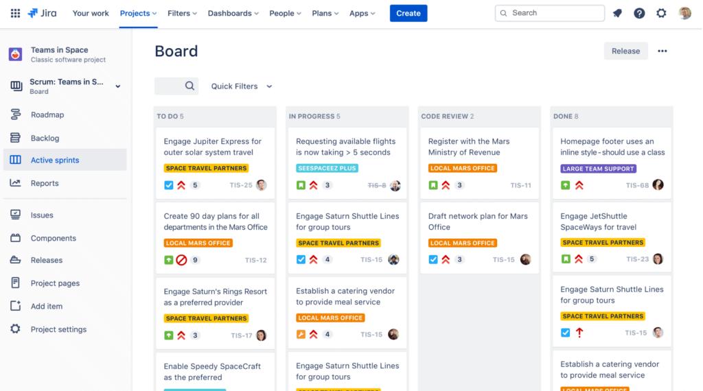 Jira collaborations tool
