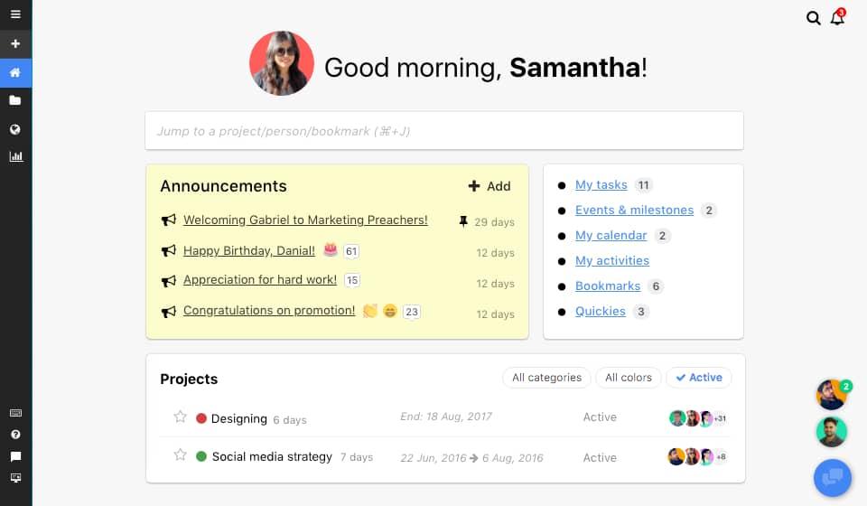 Proofhub task management tool