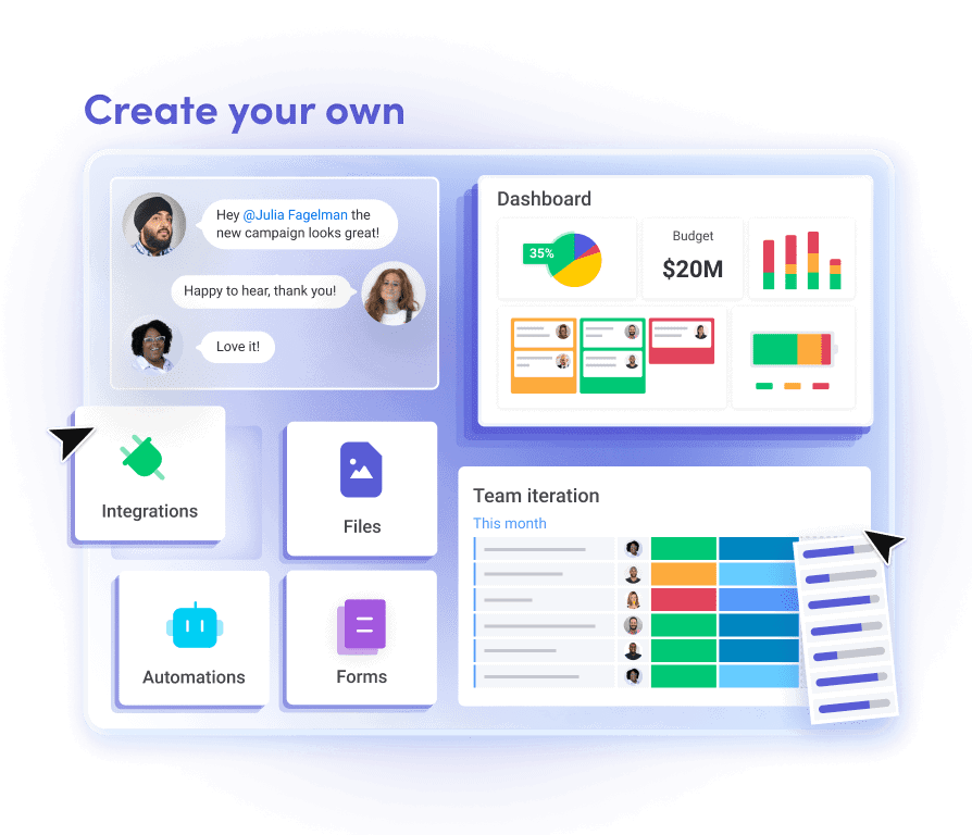 monday.com project tracking tool