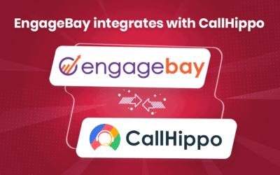 EngageBay Integrates with Leading Telephony Software CallHippo