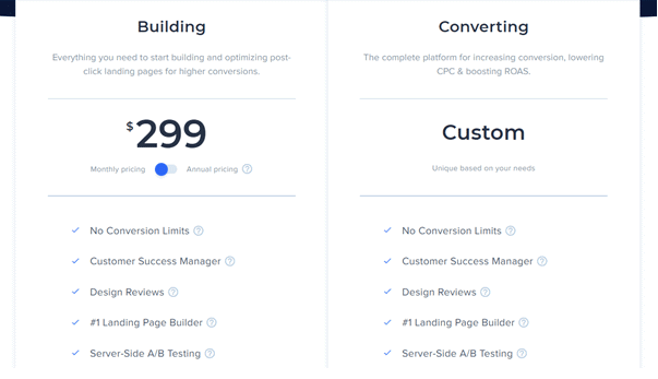 instapage-pricing