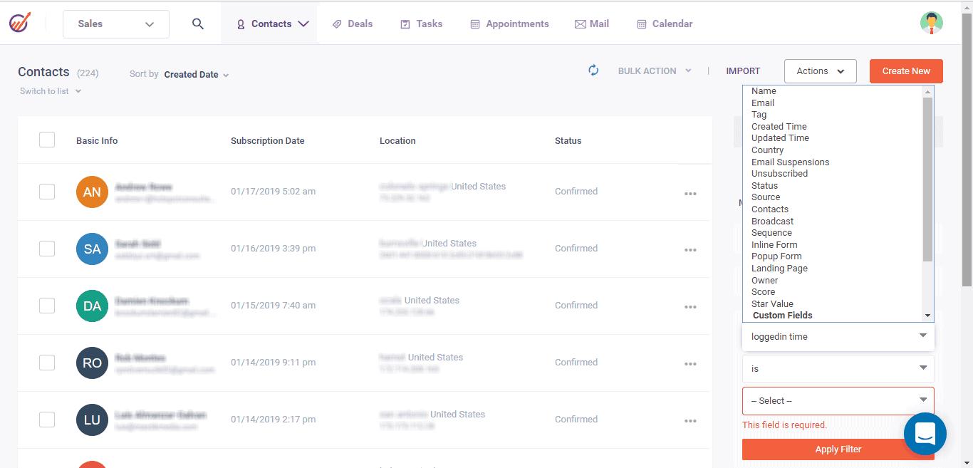 engagebay-sales engagement tool
