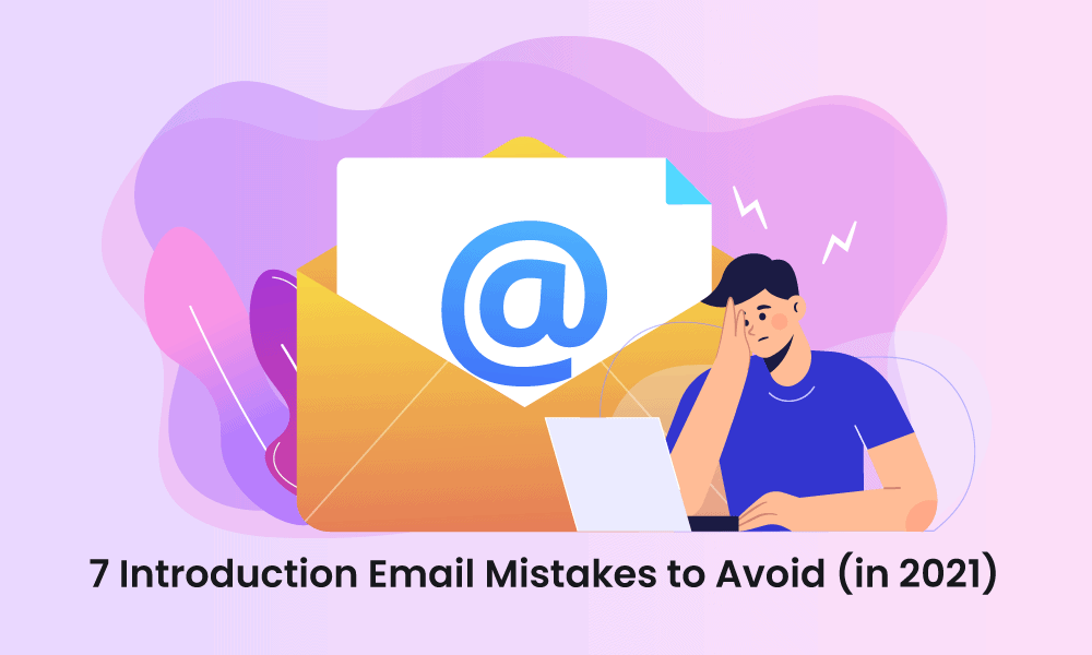 introduction email mistakes
