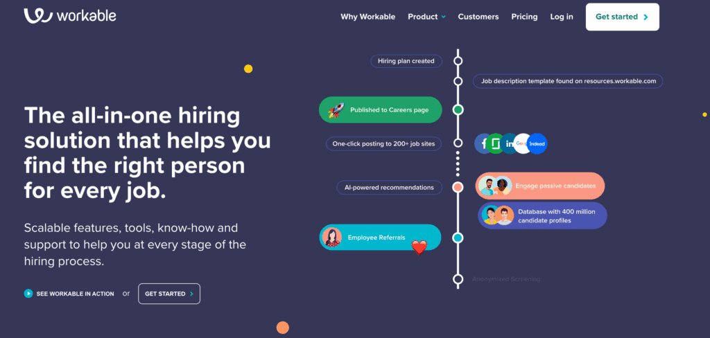 Workable recruitment tool