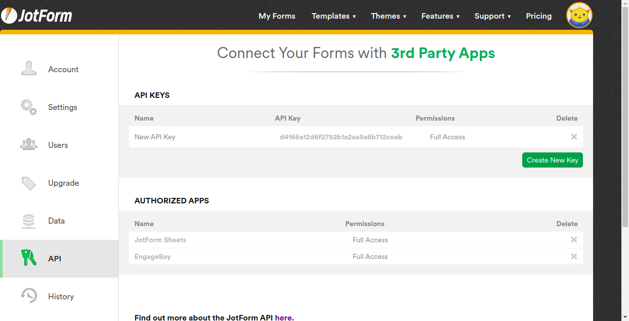 Publish online forms quickly